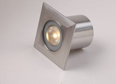 GF119SQ 40mm IP68 1W Mini Square LED Deck Light