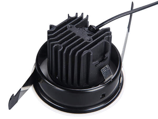 DL3001 Pinhole LED downlight back view