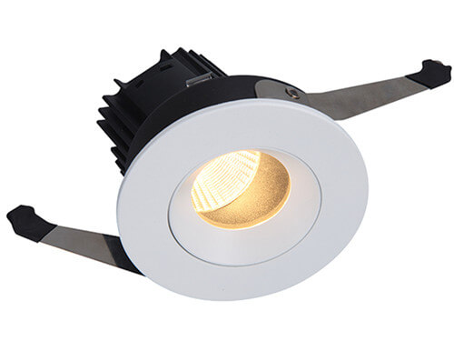 DL3059 10W Low Glare LED Downight with White Inner Rim