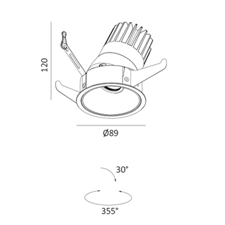 DL3196 dimensions