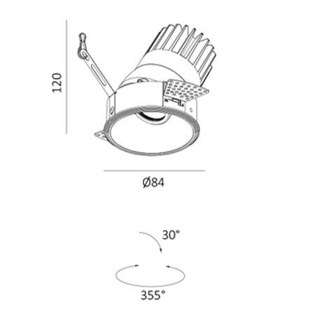 DL3197 dimensions